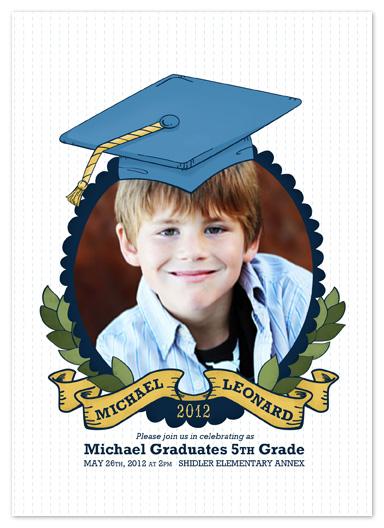 graduation announcements - Grad Hat by Pistols