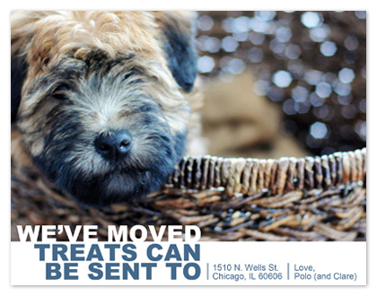 moving announcements - Treat Forwarding  by Kristin Haley