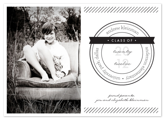 graduation announcements - Seal of Approval by Chips and Salsa Design Studio