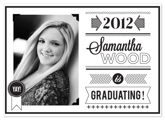 Graduation announcements graphic black and white graduation graduation announcements graphic black and white graduation announcement by adai le filmwisefo