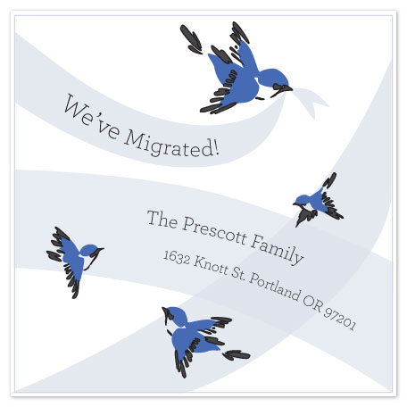 moving announcements - Our Family Has Migrated! by Adai Le