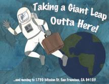 Giant Leap by Amanda Cruz