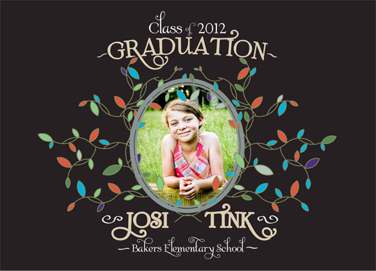 graduation announcements - Folklore Woods by Jordan Hart