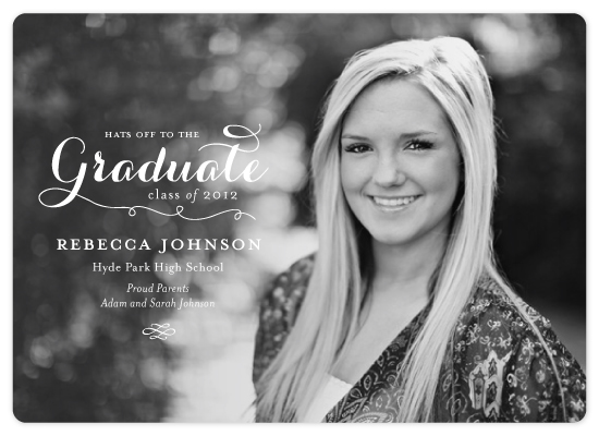 graduation announcements - Refined by Lauren Chism