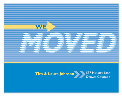 moving announcements - This way by Tracy Dunn