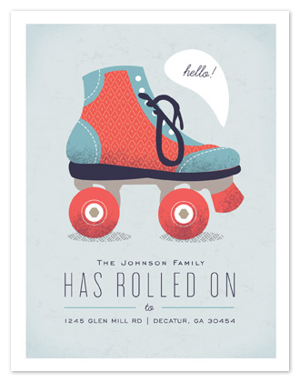 moving announcements - Rolling On by Kristen Smith