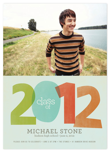 graduation announcements - 2012 Layers by Robin Ott