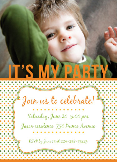 party invitations - It`s my party by Carolina Rezende