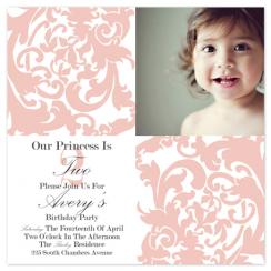 Pink Princess Damask