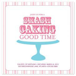 Smash Caking on Platter