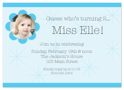 party invitations - Sew Excited to Party by Elisabeth Lein