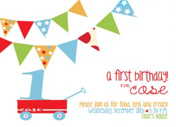 a first birthday!