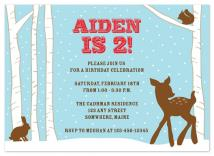 Woodland Winter by Truly Noted