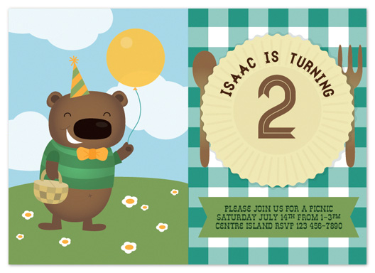 party invitations - Picnic Party by Lisa Armstrong