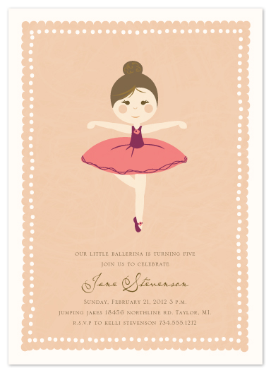 party invitations - Diary of Jane by Dreaming Inspirations