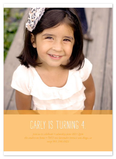 party invitations - carly by Kimberly Nicole