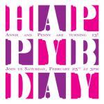 Happy Bday by Lisa Zizza McSweeney