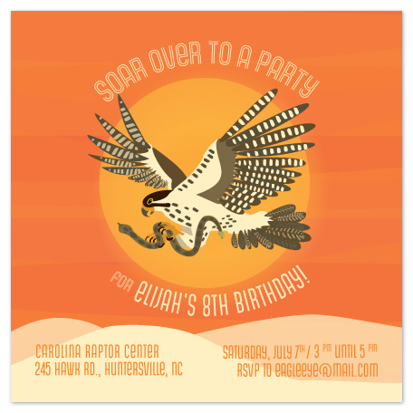 party invitations - Soar with Me! by hannahcloud DESIGN