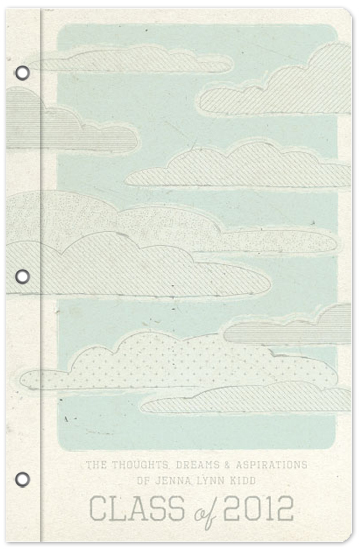 journals - Sky's the Limit by Bleu Collar Paperie