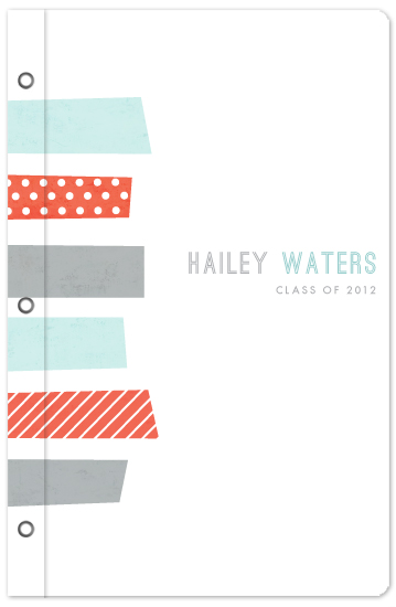 journals - Cropped washi by Stacey Meacham