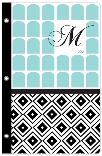journals - Simple Elegance monogram by Jenni Unruh
