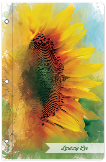 journals - Sunflower Delight by Lindsay Lee Siovaila