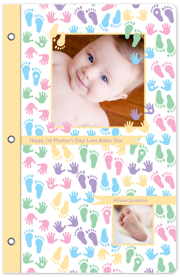 journals - Baby Feet by Alina