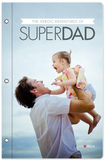 journals - Super Dad by Ana Gonzalez