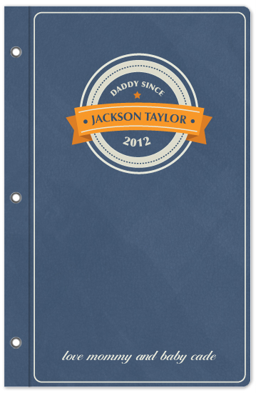 journals - Daddy's Notes by Melissa Cundiff