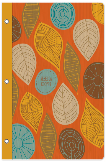 journals - Foliage Notes by Smudge Design