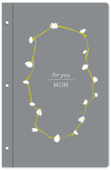 journals - daisy chain by Paper Rose
