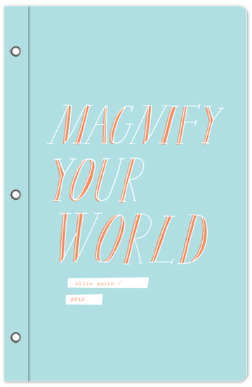 journals - magnify your world by Paper Rose
