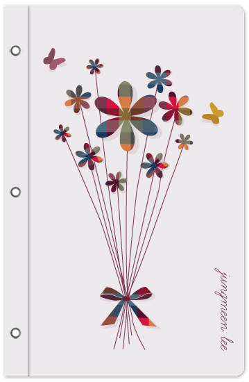 journals - flower bouquet by Min Lee