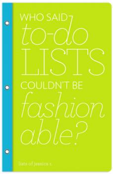 who said to-do lists couldn't be fashionable?