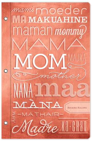 journals - Mama Madre Moeder by Susie Allen