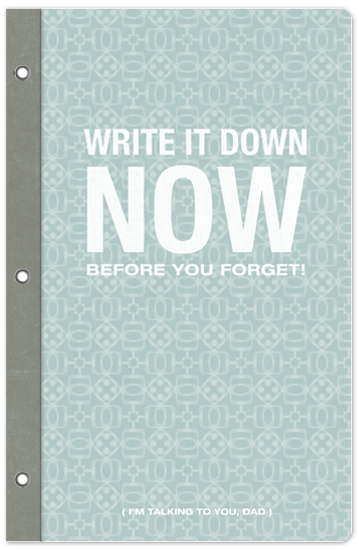 journals - don't forget by Guess What Design Studio