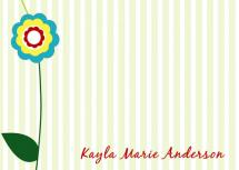 Stripes and flowers by CML Designs