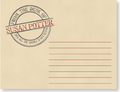 personal stationery - In The Mail by Sami P