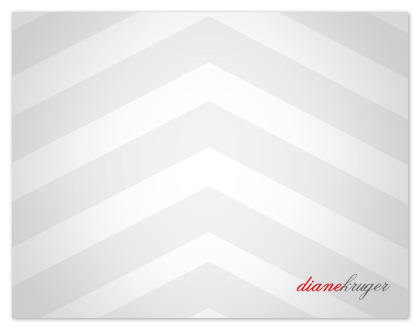 personal stationery - Confident Chevron by Le Stylographe Design