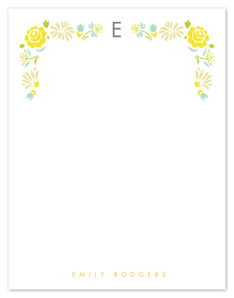 personal stationery - simplicity by trbdesign