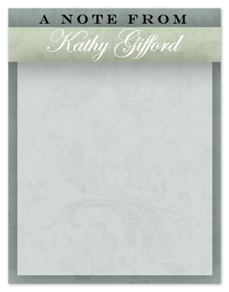 personal stationery - Damask Vellum by Christina Roth