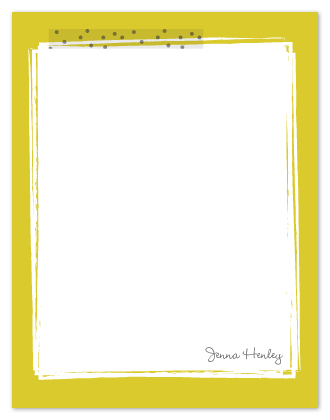 personal stationery - Dots and Jots by Kathleen Niederhauser