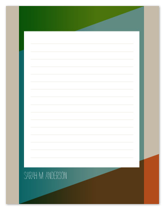 personal stationery - Norwegian Forest by msHay