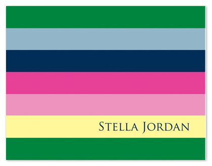 personal stationery - Rainbow by Stephanie Blaskiewicz