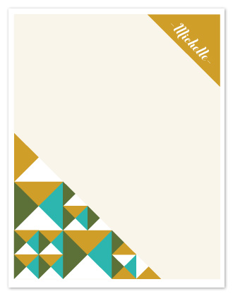 personal stationery - Norwegian minerals by msHay