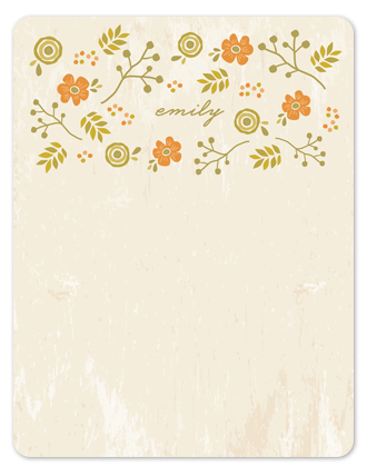 personal stationery - Woodland Chic by Melanie Severin