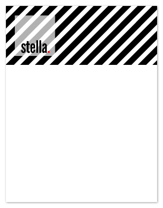 personal stationery - i love stripes! by Arty Guava