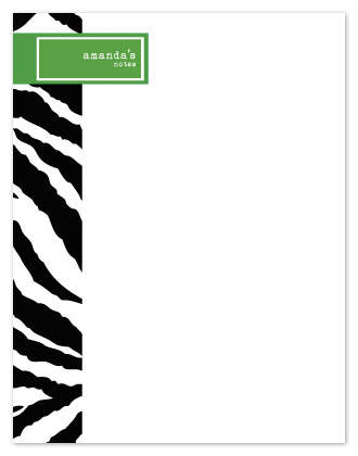 personal stationery - Amanda's Animal Instinct by Arty Guava