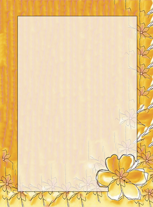 personal stationery - Orange Punch by Julie D Luehrs
