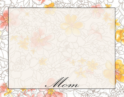 personal stationery - Simply Petals by Julie D Luehrs
